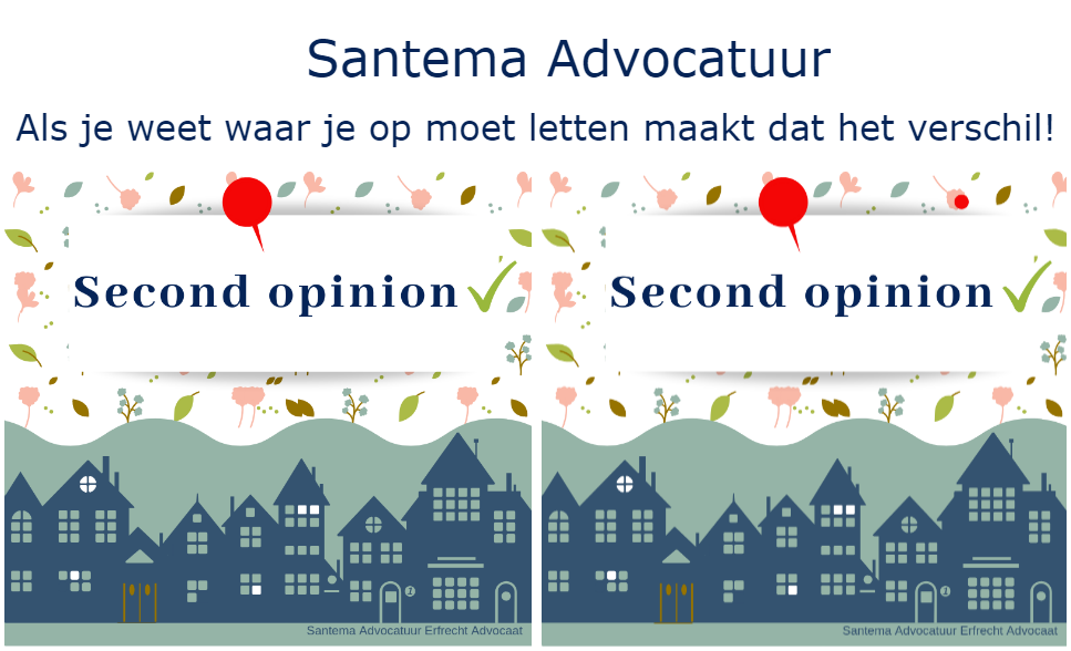 Santema Advocatuur Second opinion
