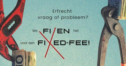 nieuws fixed fee, adviesgesprek bij vraag of probleem